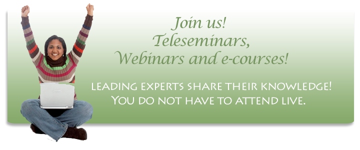 Join Us for Teleseminars!